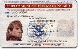 To work temporarily in the U.S. you must apply for an Employment Authorization Document(EAD). This will prove you are eligible to work in the United States.