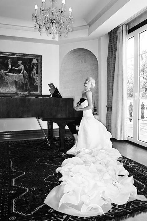 Model: Thea Athan Photo: Irina Dianova-Spiru Clothes: Valtadoros Paris Styling: Giselle Karounis. Hair: Vassilis Saroglou MUA: Jian Li