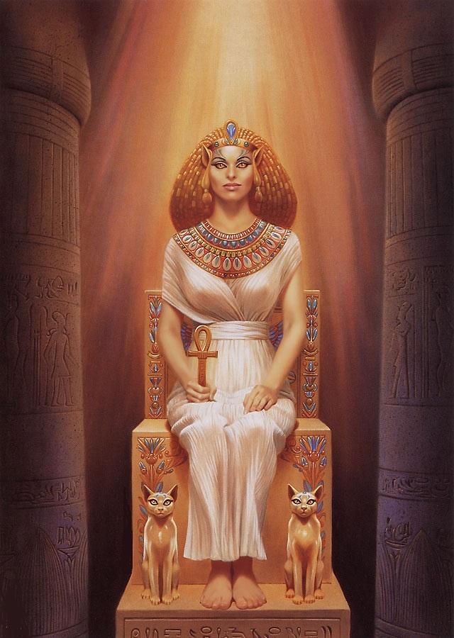 legends egyptian cat god - photo #33