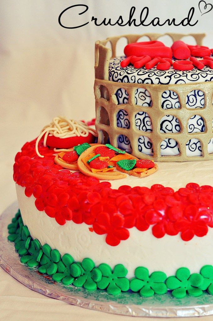 Colosseum cake The 48 best ROME patterns