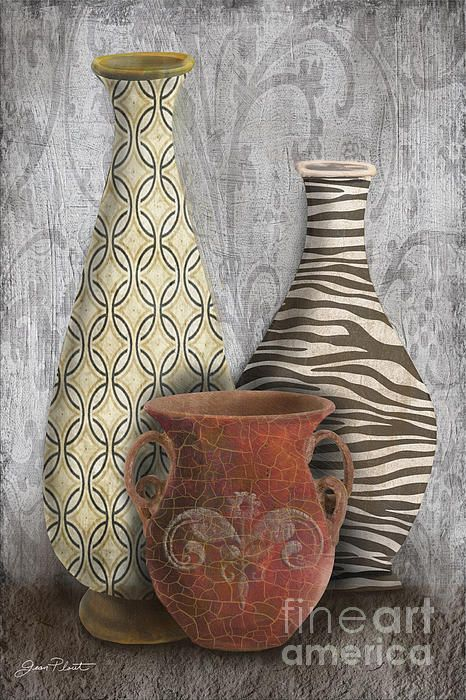 I uploaded new artwork to plout-gallery.artistwebsites.com! - 'Animal Print Vase Still Life-C' - http://plout-gallery.artistwebsites.com/featured/animal-print-vase-still-life-c-jean-plout.html via @fineartamerica