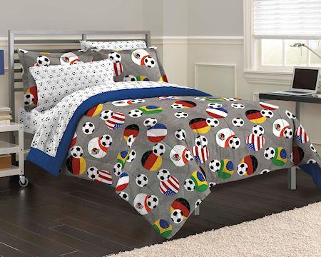 Usa Amp World Soccer Bedding Twin Full Queen Comforter Set