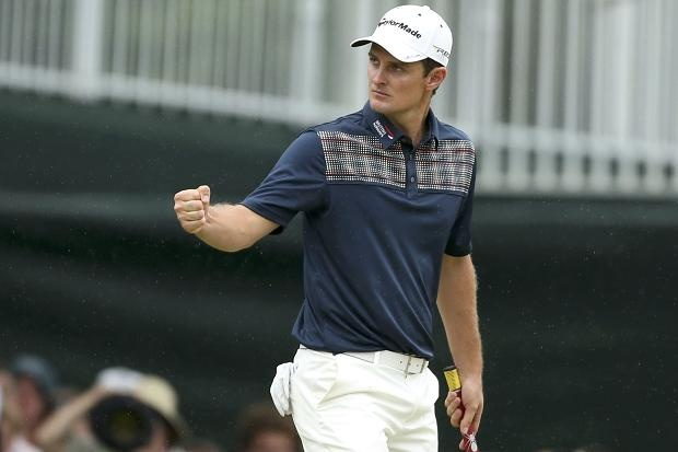 Justin Rose became the first Englishman to win one of golf's major championships since Sir Nick Faldo in 1996 when he survived a gruelling final day of the 113th US Open at Merion with a score of one over par, two strokes ahead of Phil Mickelson.