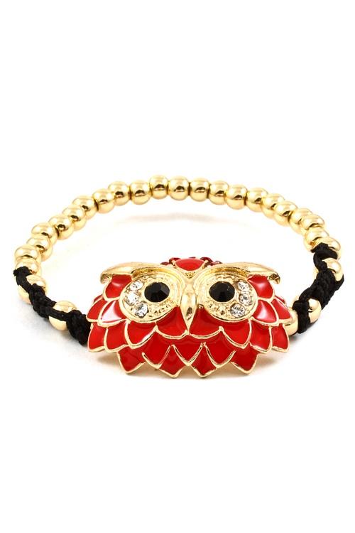 Red Owl Bracelet.