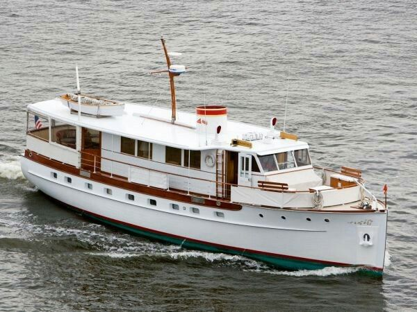 Yachts for sale vintage motor yachts for sale for Vintage motor yachts for sale
