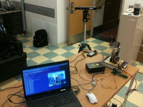 Advanced robotic arm control using Kinect