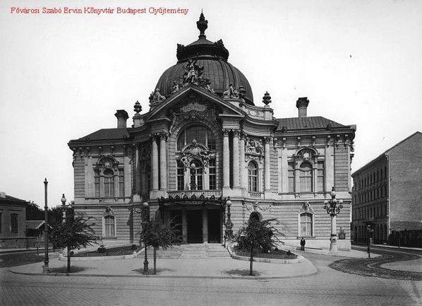 A Vígszínház 1896-ban