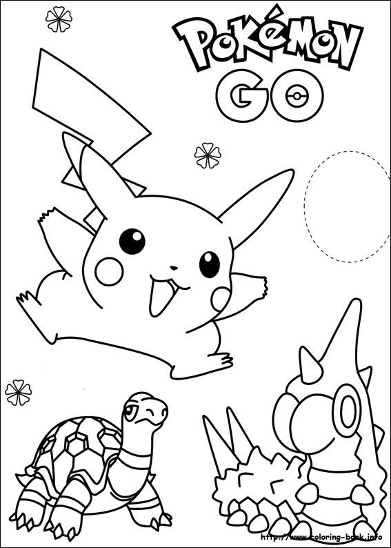 Desenhos Do Pokemon Para Colorir E Imprimir Forskola