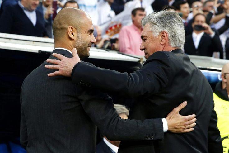 Fußball-Bundesliga: Pep Guardiola verlässt nach drei Jahren den FC Bayern. Sein Nachfolger wird der Italiener Carlo Ancelotti.