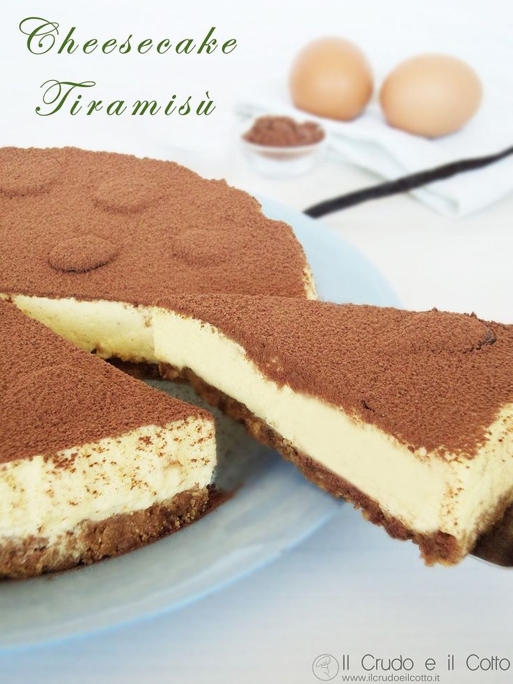 Cheesecake Tiramisù ~ Il Crudo e il Cotto