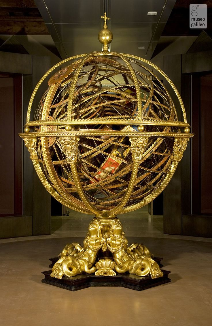Old Armillary sphere (Inv. 714) Museo Galileo - Institute ...
