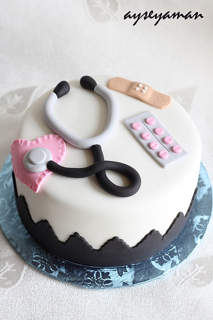 Birthday Cake Images For Doctors : Doctor Cake Doctor/Nurse Cakes Pinterest