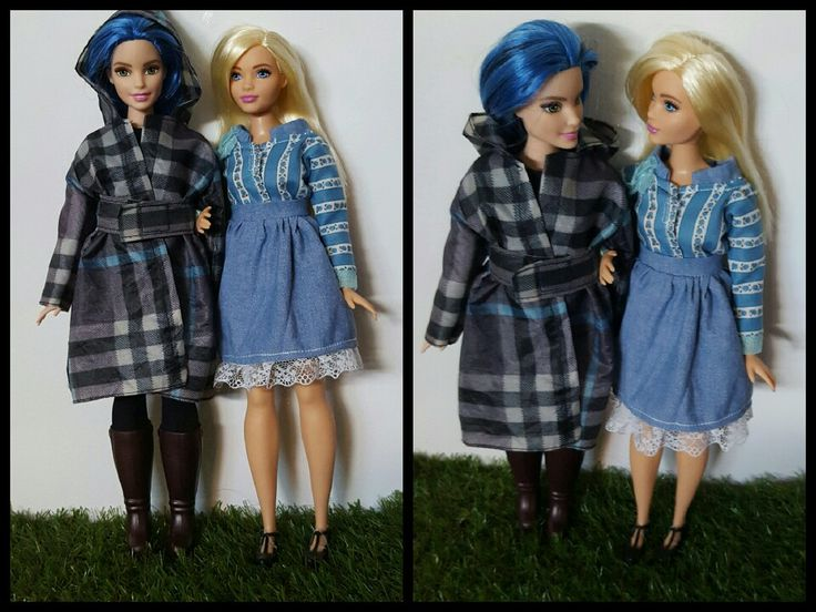 Upcycle fashion for curvy barbie