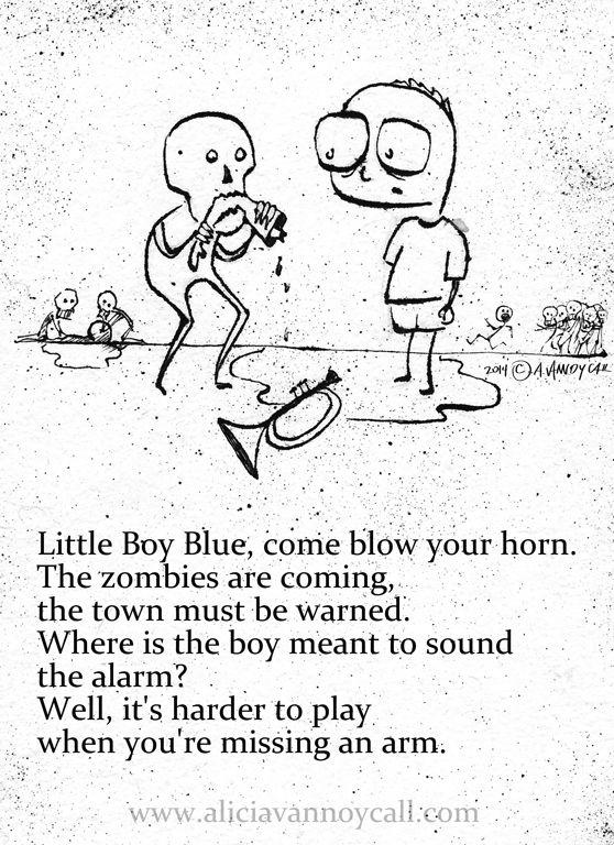For everyone that understand my dark humor.....25 Adorably Disturbing Apocalyptic Nursery Rhymes