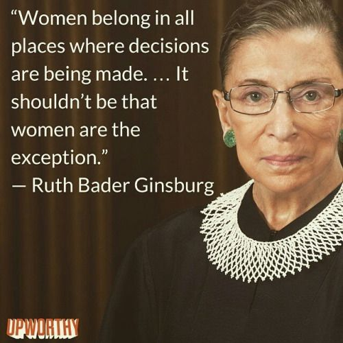 ruth bader ginsburg quotes - Google Search