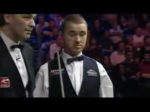 Ronnie O'Sullivan concession vs Stephen Hendry