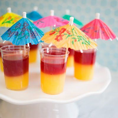 e is for eat: T is for: Tequila Sunrise Jello Shots