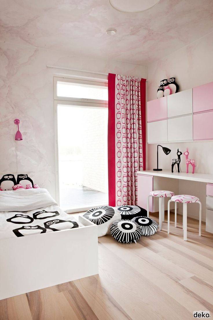 Graphic kid's room #kids #decor