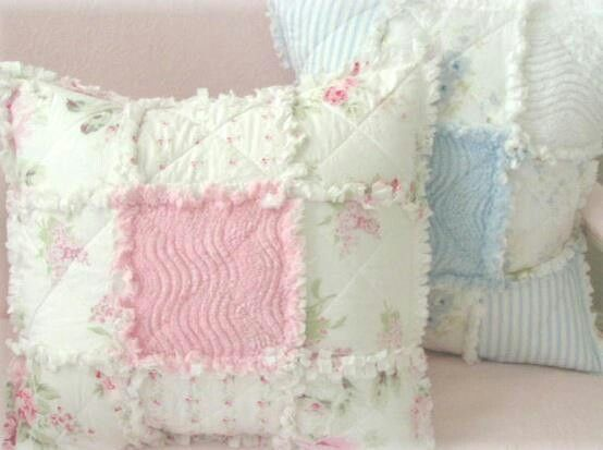 Shabby Chic Chenille Pillows : 23 best images about Blankets, Quilts and Throws.. on Pinterest Autism awareness, Easy quilts ...