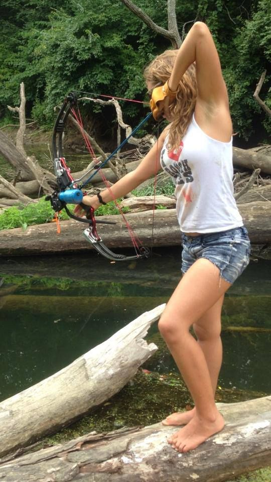 127 best hunting images on pinterest archery hunting for Topless girls fishing