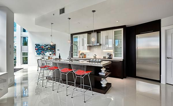 #Artemisia: The finest #boutique residence in the heart of #Vancouver #VanRE #kitchen #interiordesign