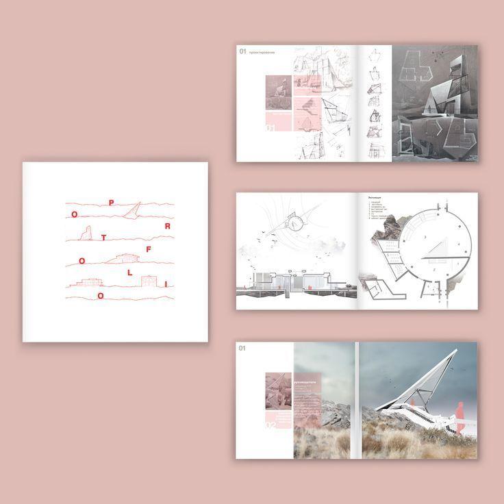 Design Portfolio Ein Sehr Ordentlicher Minimalistischer