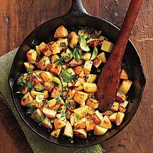 Herbed Potatoes | MyRecipes.com