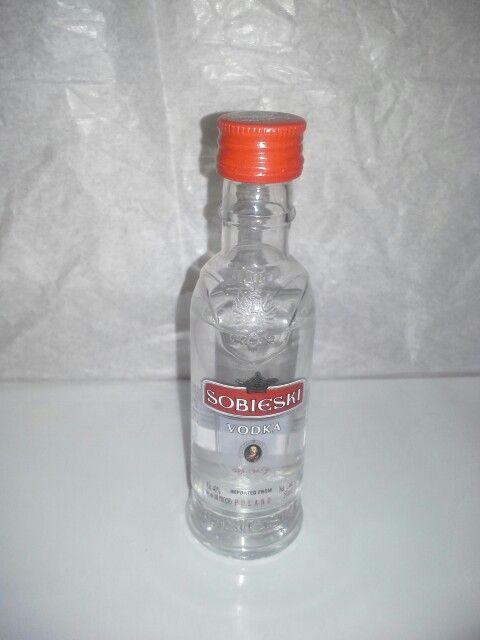 Sobieski vodka 50 ml. Plastic bottle   bottles I have ...