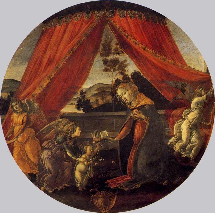 Η Παναγία με το Θείο Βρέφος και τρεις άγγελοι (1493)
