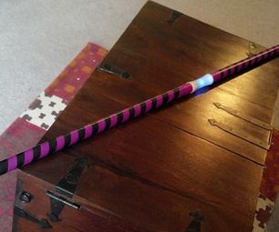 How to Make a Collapsible LED Light-up Bo Staff for under $30