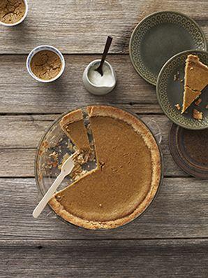 Sugar-free Pumpkin pie