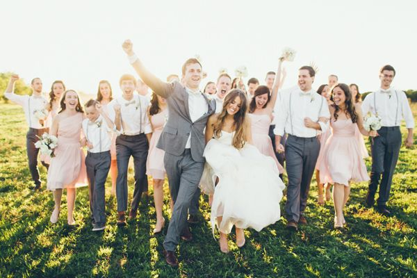 happy bridal party | Jess Barfield #wedding