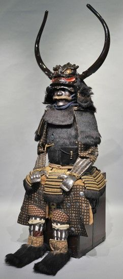 Arima Yorimoto 有馬頼元 - Daimyo of the Arima clan. Edo Period.  有馬頼元(ありま よりもと)  承応3年8月25日(1654年10月5日) ~ 宝永2年7月18日(1705年9月5日) 伝四代藩主頼元所用「小熊」 江戸時代 個人蔵 I Website: http://www.arimakinenkan.or.jp/information/detail/28