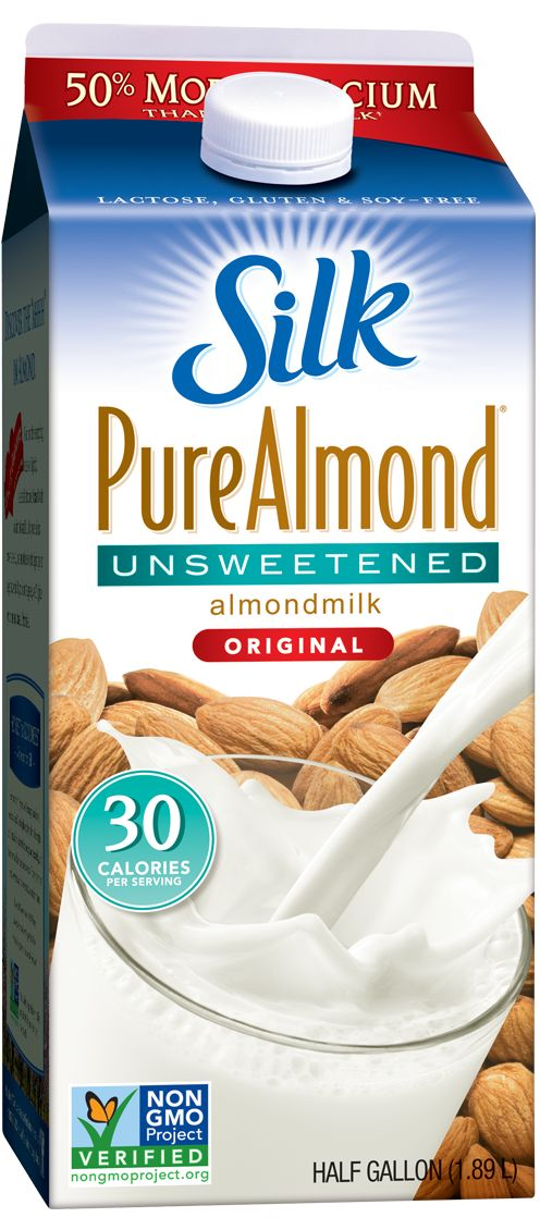 Unsweetened Original Almondmilk - my fav! 30 calories per serving Absolutely no added sugar 50% more calcium than dairy milk Excellent source of vitamin E Absolutely no cholesterol or saturated fat Free of dairy, soy, lactose, gluten, casein, egg and MSG Verified by the Non-GMO Projects product verification program No artificial colors, flavors or funny business....NO carrageenan