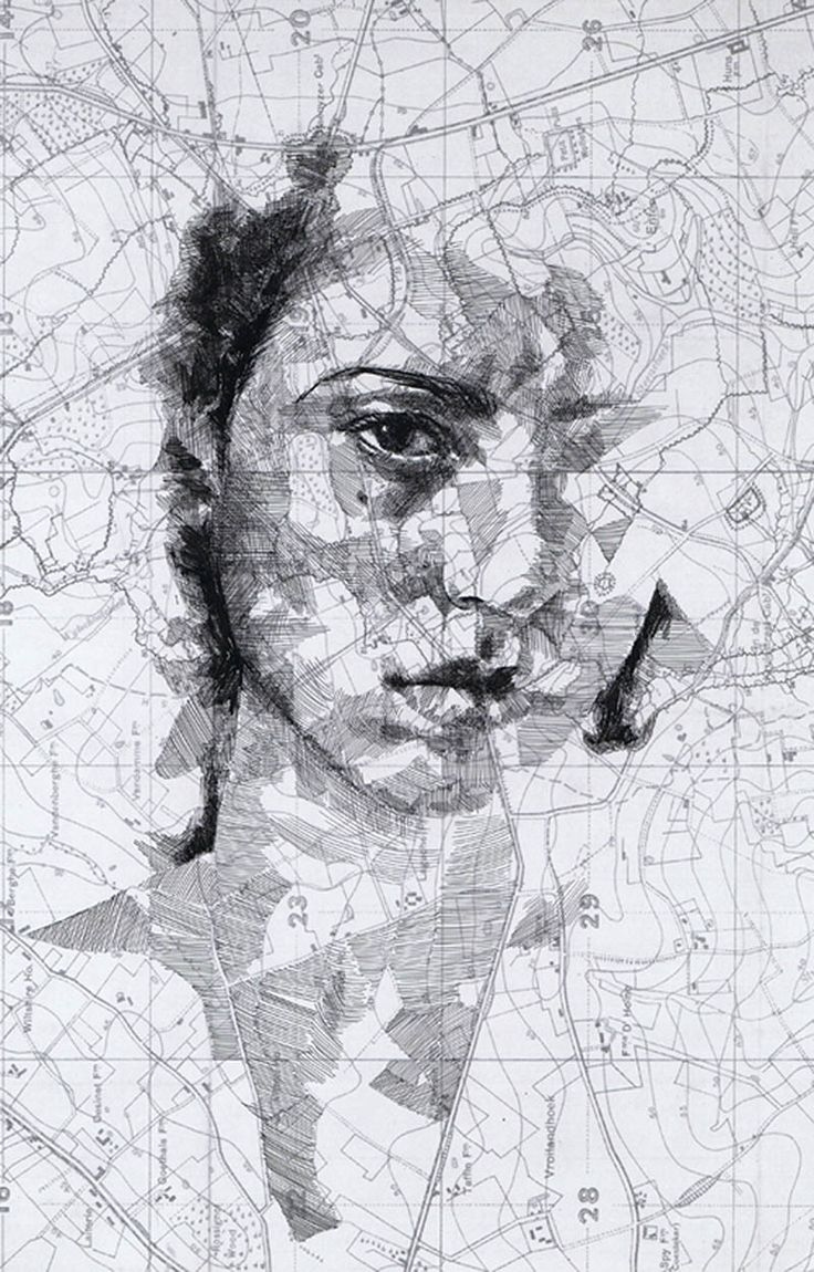 Drawing on map