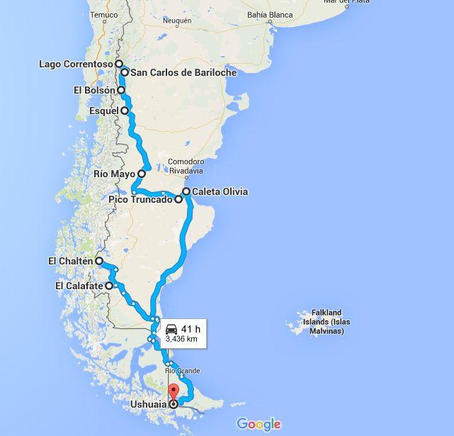 Mon itinéraire en auto-stop en Argentine, à travers la Patagonie. Trois semaines, deux filles et beaucoup d'aventures. Itinéraire, conseils et retour d'expérience