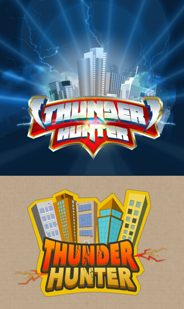 Games Logos by Shabi Mohmed, via Behance