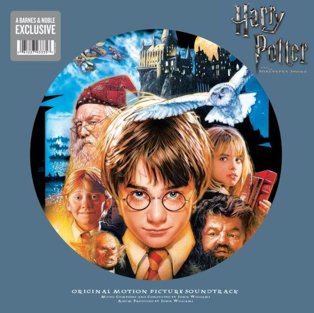 Harry Potter And The Sorcerer S Stone Original Soundtrack Picture Disc The Sorcerer S Stone Harry Potter Soundtrack Sorcerer