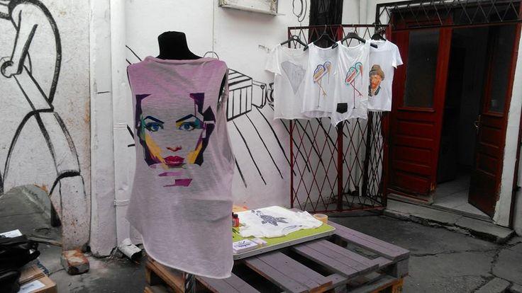 #troistone #tshirt #handmade #tricou #makingof #process #design