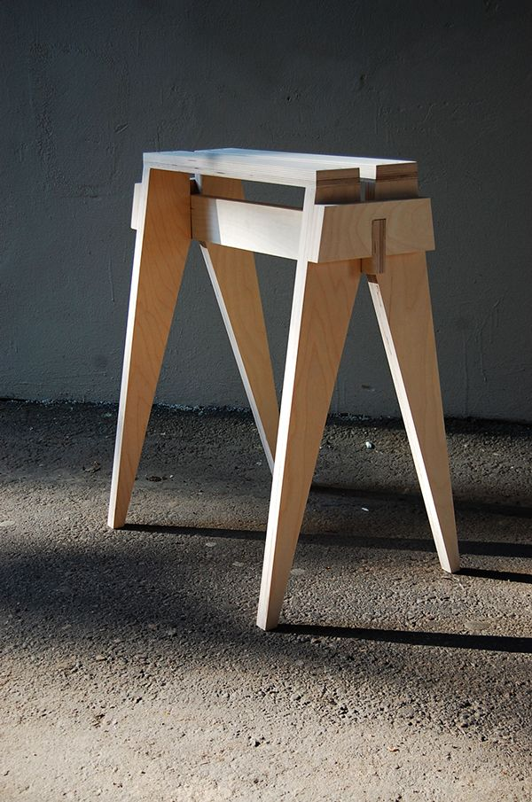goat stool for Electrolux food and design lab