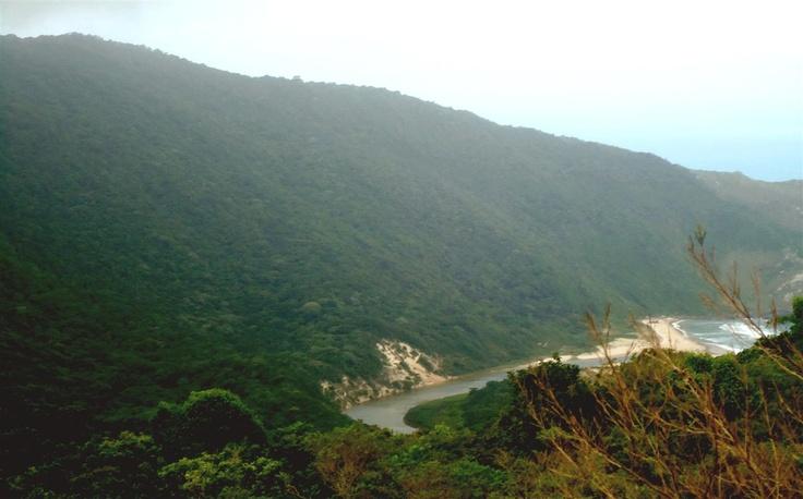 Vista Praia Lagoinha Do Leste, Florianopolis, Santa Catarina