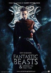 """Ecco il primo film della nuova saga di Harry Potter. Il titolo è quello del libro """"Animali fantastici e dove trovarli"""". Leggete l'articolo e scoprirete l'inizio della trama!"""