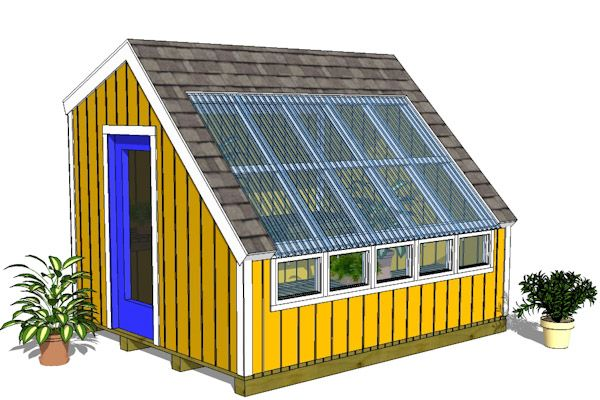 Wood Greenhouse Plans – We Added A New Greenhouse Shed Plan ...