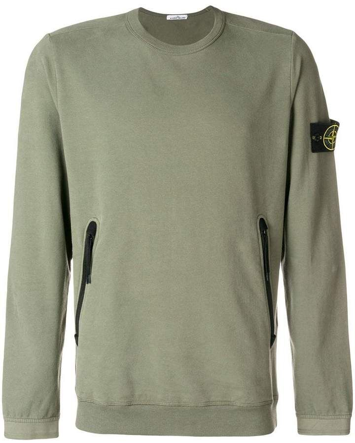 reliable quality detailed images large discount Stone Island zipped pocket sweatshirt #ad #stoneisland in ...
