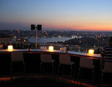 Nu Teras, Istanbul (dinner, drinks)