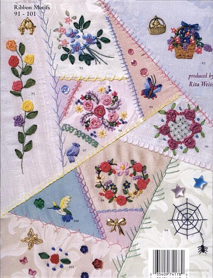 1000+ Images About Crazy Quilt Stitches How To On Pinterest | Hand Embroidery Stitches And 2d