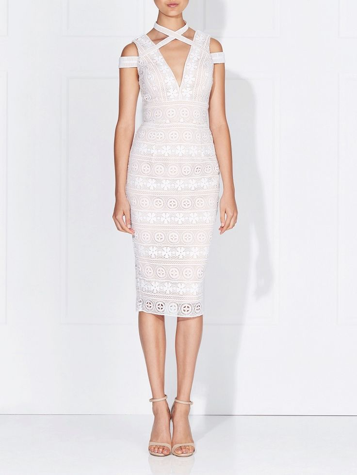 Love Honor - Willow Lace Dress Ivory