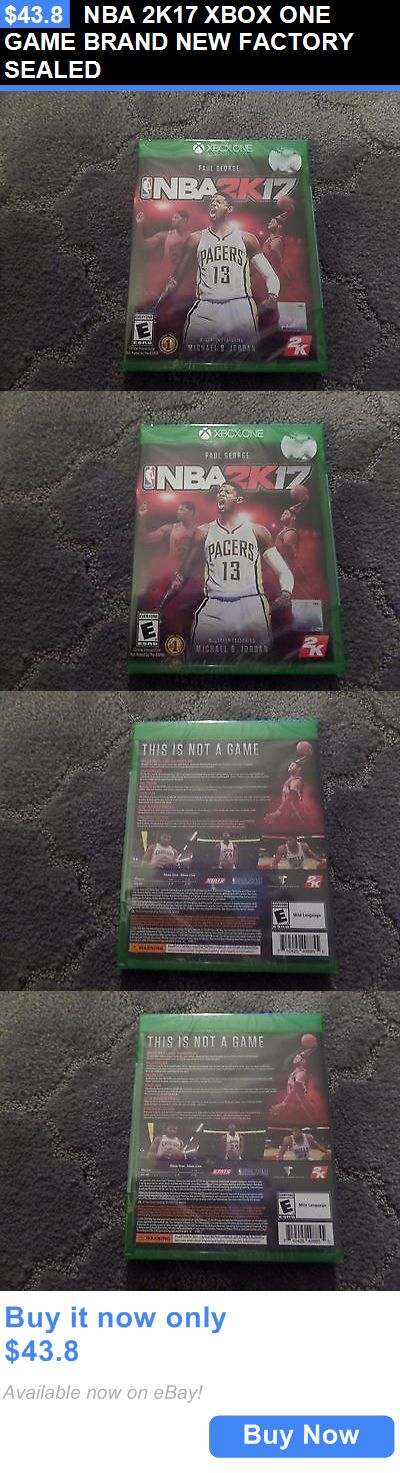 Video Gaming: Nba 2K17 Xbox One Game Brand New Factory Sealed BUY IT NOW ONLY: $43.8