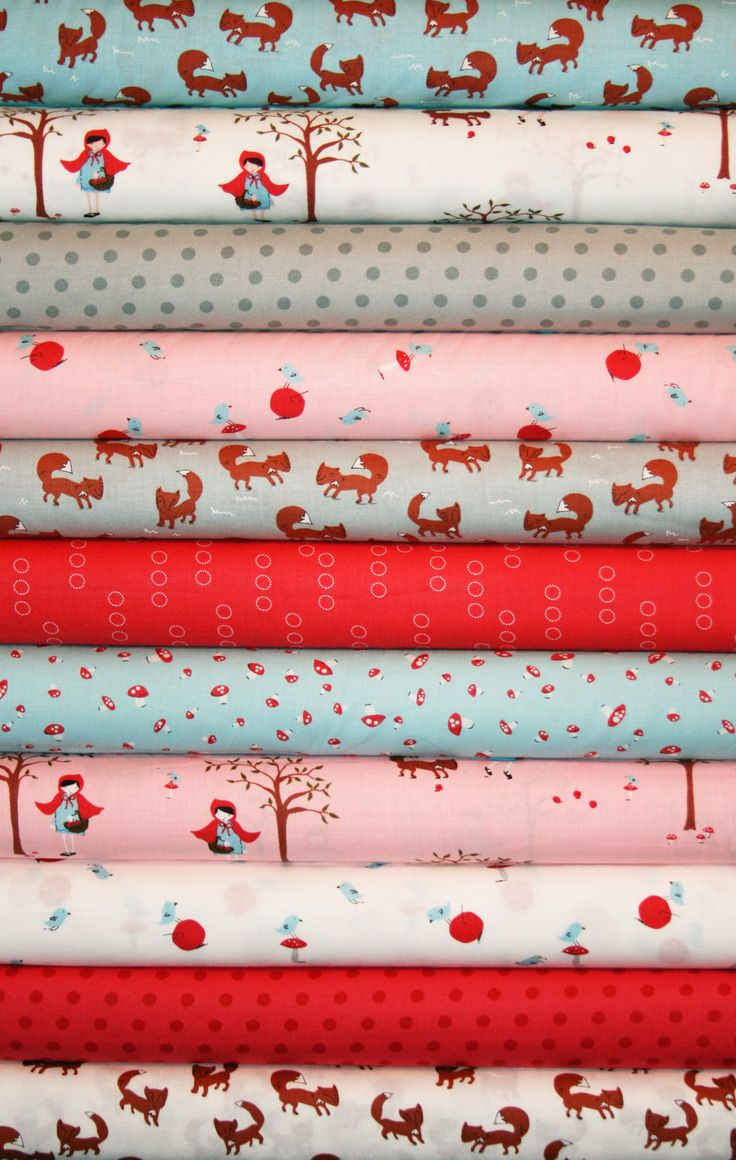 11 Fat Quarters  A Walk In the Woods by Aneela Hoey, Moda Fabrics,  Designer Fabric. $29.15, via Etsy.