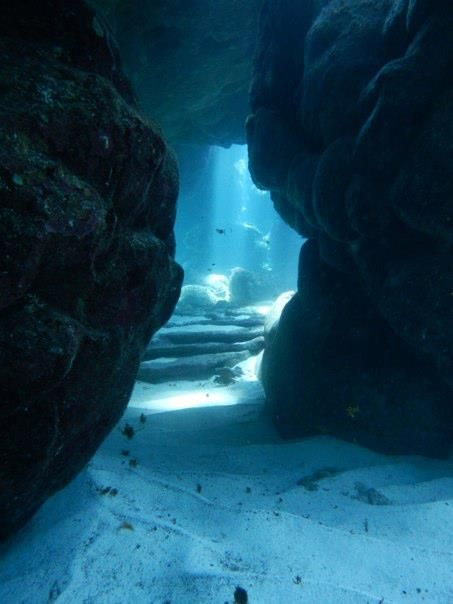 underwater caverns repinned by #smgtreppen